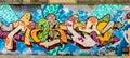 Colorful Abstract Graffiti World Royalty Free Stock Photo