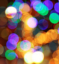 Colorful abstract  lights background Stock Photos