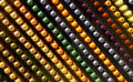 Colorful abstract pattern of knobs buttons or Royalty Free Stock Image