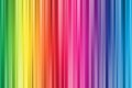 Colorful abstract Rainbow Curtain Background, vintage style. Royalty Free Stock Photo