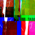 Colorful abstract rectangles Royalty Free Stock Photo