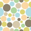 Colorful abstract seamless circle pattern background