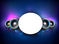 Colorful abstract speakers background. Stock Photos
