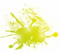 Colorful abstract splash design
