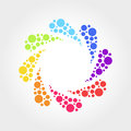 Colorful Abstract Symbol
