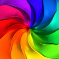 Colorful abstract twisted background Royalty Free Stock Image