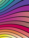 Colorful Abstract Wavy lines! Royalty Free Stock Photos