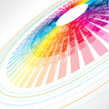 Colorful abstract wheel Stock Photos