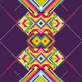 Colorful abstraction graphic with abstract geometric elements Royalty Free Stock Photos