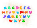Colorful alphabet Stock Image