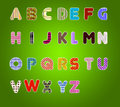 Colorful Alphabet Royalty Free Stock Photos