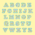 Colorful alphabet. Royalty Free Stock Images