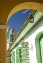 Colorful Arch, Trinidad, Cuba Royalty Free Stock Image