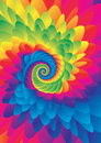 Colorful Tie dye background vector Royalty Free Stock Photo