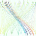 Colorful background with abstract waves, lines. Bright color chaotic, random, messy curves, swirl. Motion design