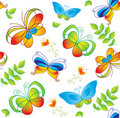 Colorful background with butterfly. Stock Images