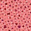 Colorful background with hearts for valentine s day Royalty Free Stock Images