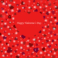 Colorful background with hearts for valentine s day Stock Photos