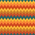 Colorful background for patchwork with zigzags and stitches illustration of Royalty Free Stock Photography