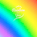 Colorful background with rainbow waves with mosaic texture for your web design Stock Photos