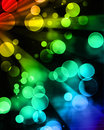Colorful background with some blurred lights on it Royalty Free Stock Photography