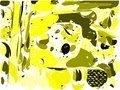 Colorful background with spots in yellow tones Royalty Free Stock Photo