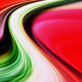 Colorful background wave Stock Photography