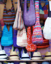 Colorful bags Royalty Free Stock Photography