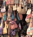 Colorful bags Royalty Free Stock Photos