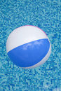 A colorful ball floating Royalty Free Stock Photography