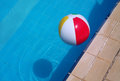Colorful ball floating