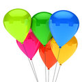 Colorful balloon Stock Image