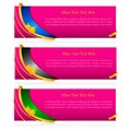 Colorful Banner Royalty Free Stock Photography