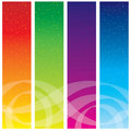 Colorful banners Stock Photo
