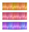 Colorful banners isolated on white Royalty Free Stock Image