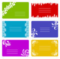 Colorful banners set Stock Photos