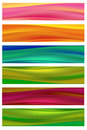 Colorful banners set of Royalty Free Stock Photo