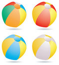 Colorful beach balls Royalty Free Stock Photo