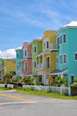 Colorful Beach Condominiums Royalty Free Stock Photo
