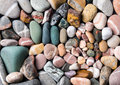 Colorful beach stones relaxing set as a background Royalty Free Stock Photography