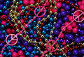 Colorful beads as an Abstract Royalty Free Stock Photography