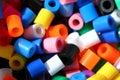 Colorful beads - macro Royalty Free Stock Photo