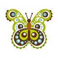 Colorful beautiful butterfly vector Illustration