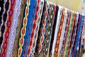 Colorful Belts in Mexico Royalty Free Stock Photo