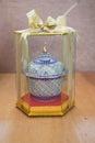Colorful Benjarong porcelain