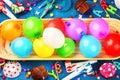 Colorful Birthday Background W...