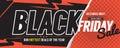 Colorful Black Friday Sale Marketing Promotion Banner