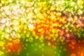 Colorful blurs bokeh background green red yellow Stock Photos