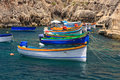 Colorful boats Royalty Free Stock Image