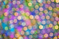 Colorful Bokeh #3 Royalty Free Stock Photos